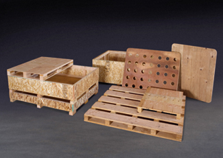 Custom Pallets and Bin Components