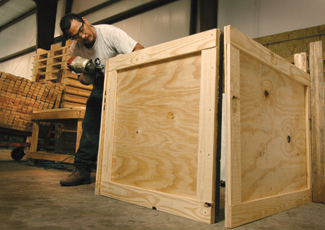 Industrial Crate Assembly