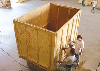 Large Packaging Crate
